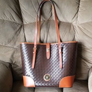 Dooney and Bourke leather tote